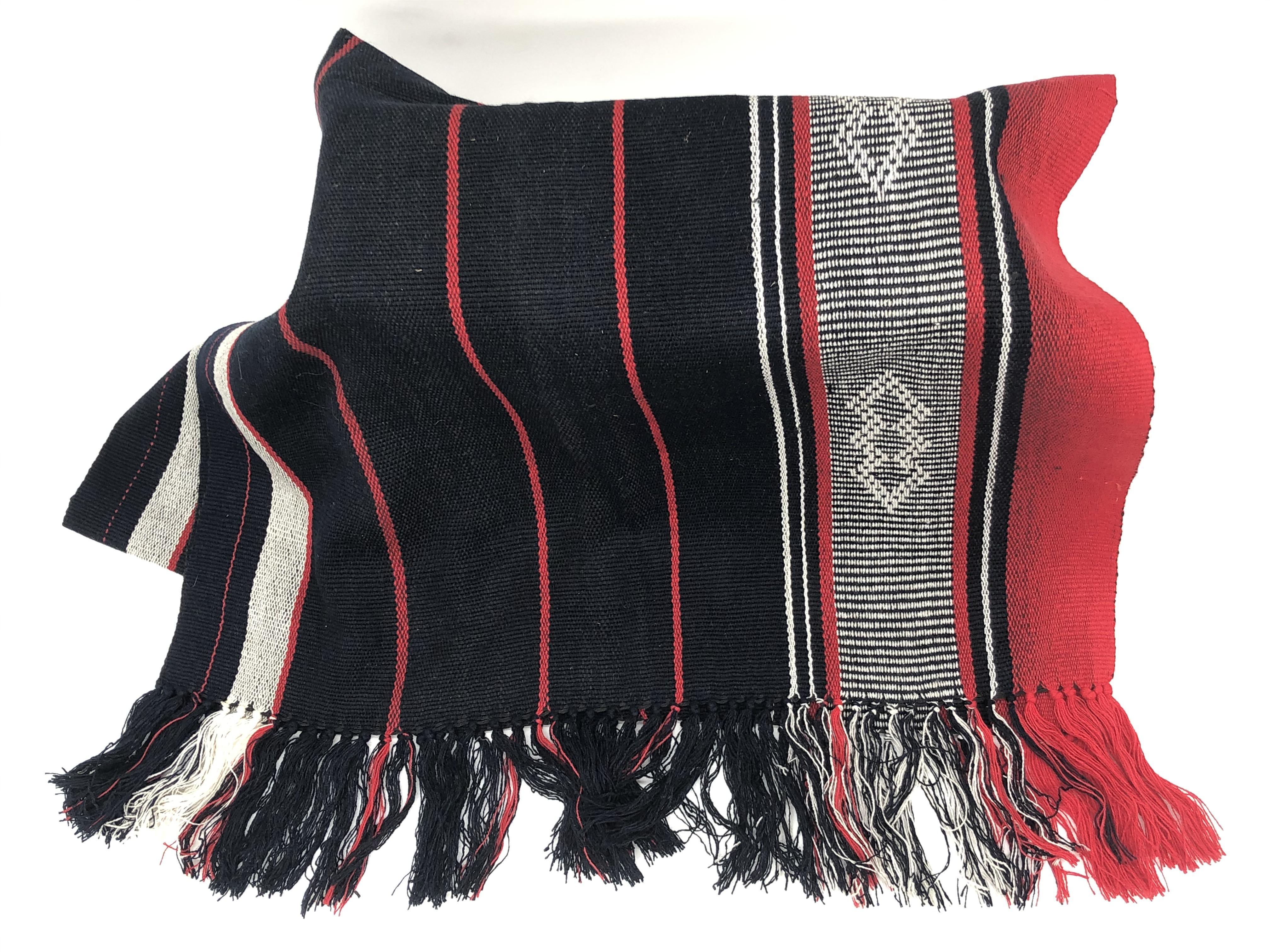 Écharpe Traditionnelle Tissée